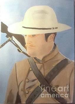 Audrey Pollitt - Robert Pattinson cowboy