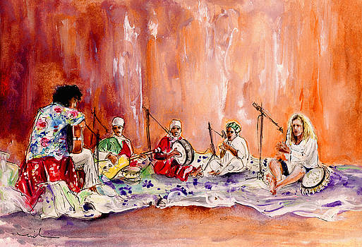 Miki De Goodaboom - Robert Plant And Jimmy Page In Morocco