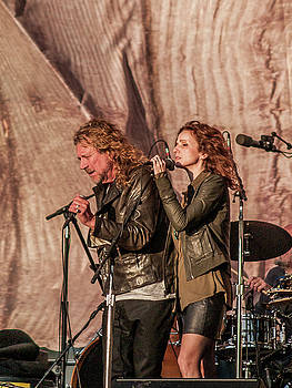 Robert Plant and Patty Griffin by Bill Gallagher