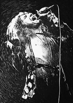 Robert Plant by Taylan Apukovska