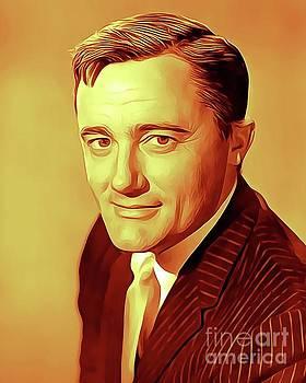 Robert Vaughan, Vintage Actor by John Springfield