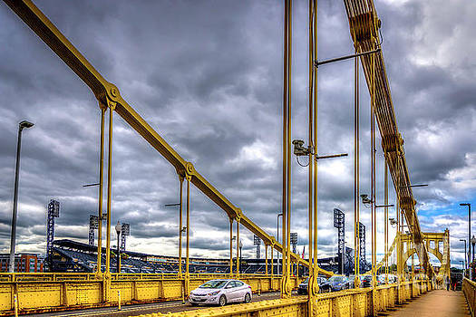 Roberto Clemente Bridge II - Pittsburgh, PA by Demi Buckley