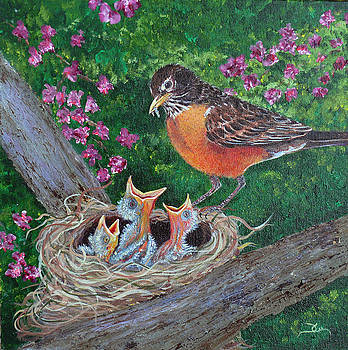 Dee Carpenter - Robin Family