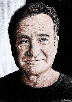 Robin Williams colour edit by Andrew Read