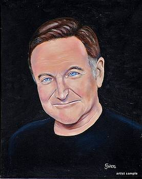 Robin Williams by Gwendolyn Frazier