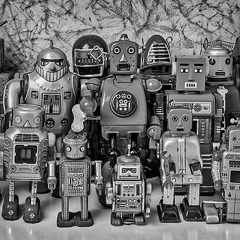 Robot Family by Garry Gay