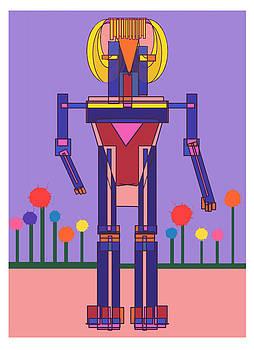 Robot Girl by Denny Casto
