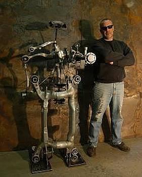 Robot Sculpture by Bruce Gray