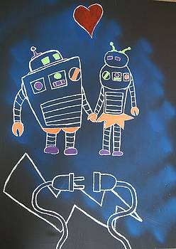 Robots love too by Travis Dosser
