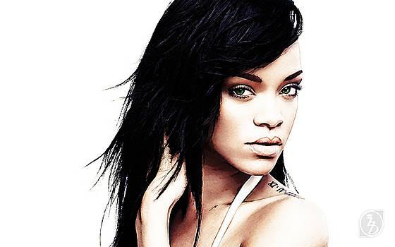 Robyn Rihanna Fenty by The DigArtisT