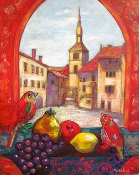Roches Sur Furon France view by Marilene Sawaf