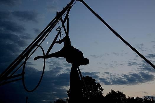 Rochester NY Fringe Festival, Night time Gymnastics by Gerald Salamone