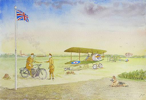 Rochford Aerodrome 1918 by David Godbolt