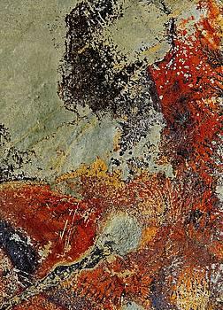Rock Aerial Landscape 6 by Denise Clark