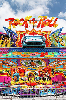 Rock and Roll Carnival Ride by Steven Bateson