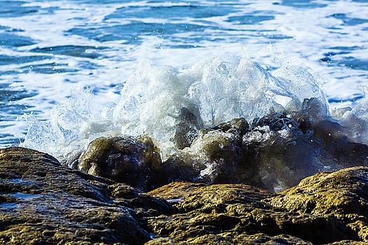 Rock and Wave by Randy Bayne