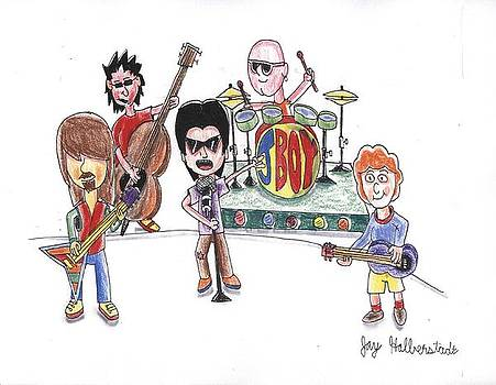 Rock Band by Jayson Halberstadt