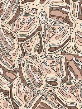 Rock Blob Pattern by Cortney Herron