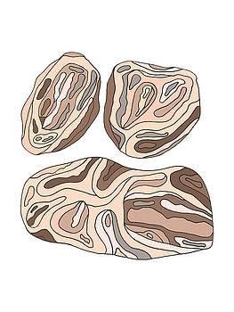 Rock Blobs by Cortney Herron