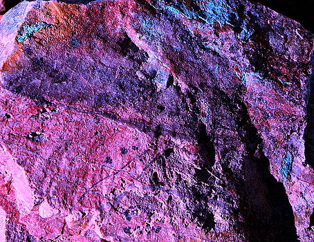 Rock Colors 1 by M Diane Bonaparte