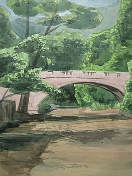 Rock Creek Bridge 5 by Bethany Lee