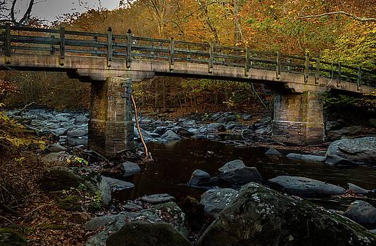Rock Creek Park Bridge by Ed Clark