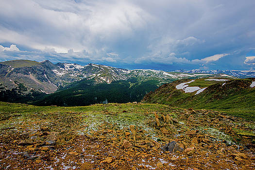 Rock Cut 2 - Trail Ridge Road by Tom Potter
