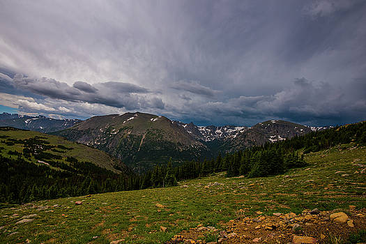 Rock Cut 3 - Trail Ridge Road by Tom Potter