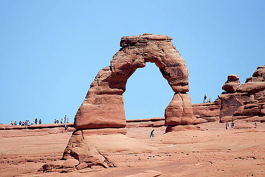 Rock Formations Delicate Arch in Arches National Park by Ronald Jansen