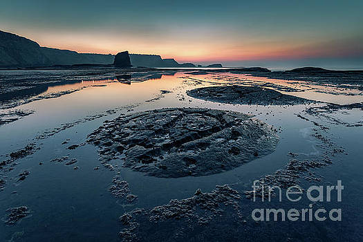 Rock Formations, Saltwick Bay, Whitby by Martin Williams