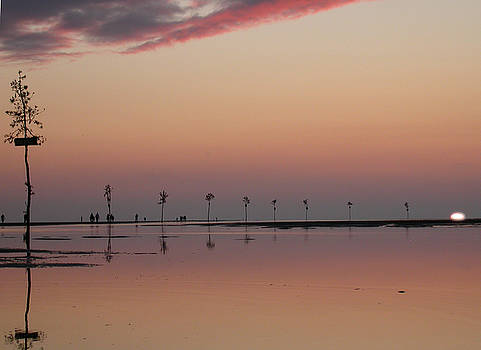 Edward Sobuta - Rock Harbor Sunset 2