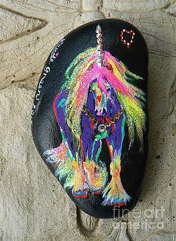 Rock 'N' Ponies - King Of Jewels Pony  by Louise Green