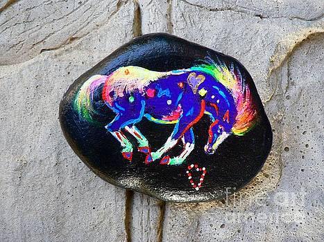 Rock 'N' Ponies - ROCK 'N' APPY by Louise Green