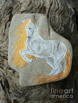Rock 'N' Ponies - Spirit Stallion by Louise Green