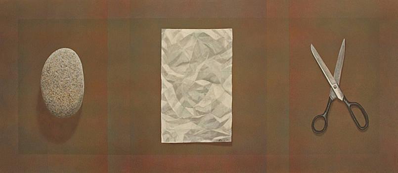 Rock Paper Scissors by Laurie Stewart