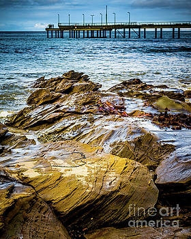Rock Pier by Perry Webster