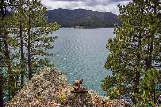 Ray Van Gundy - Rock Stack at Pactola Lake