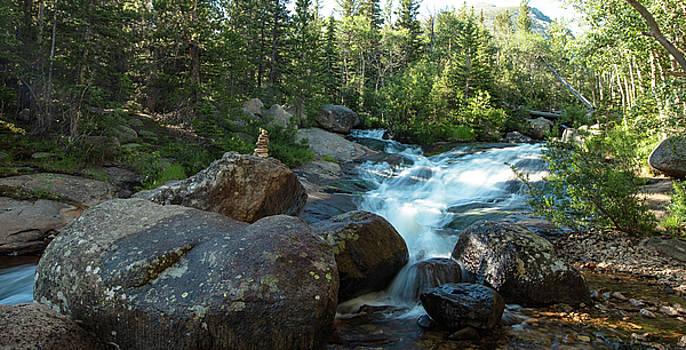 Rock Stack Falls by Sean Allen