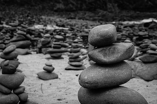 Rock Stacking by Harald Ole Hansen