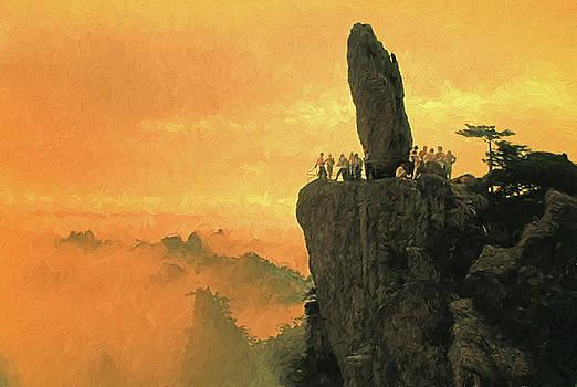 Rock That Flew at Dusk by Dennis Cox Photo Explorer