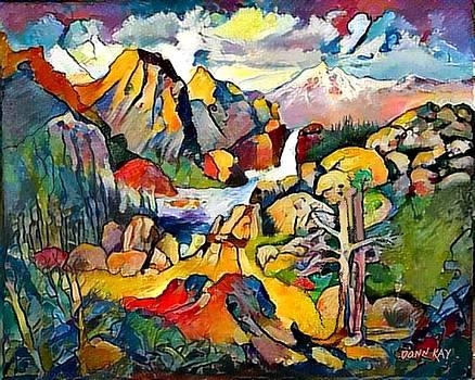 Rock Valley Falls by Donn Kay