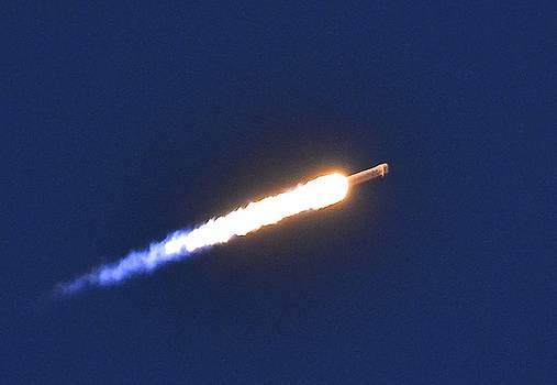 Rocket Launch by Lorelei Galardi