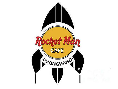 Rocket Man Cafe Pyongyang by Joseph J Stevens