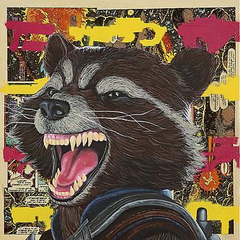 Rocket Raccoon  by Anthony Jensen