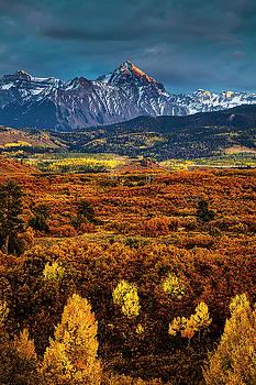 Rockies at Autumn by Andrew Soundarajan