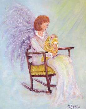 Rocking Chair Angel by Sandra Cutrer