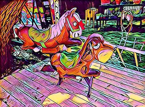 Rockinghorse Retirement by Patricia Rex