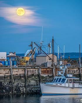 Rockland Hunters Moon by Tim Sullivan