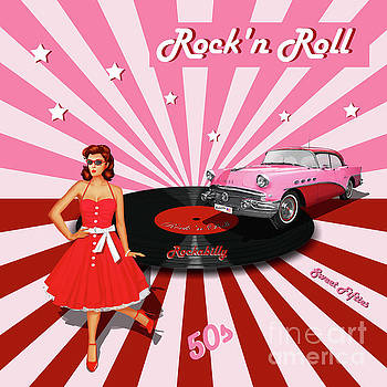Rock'n Roll the sweet Fifties by Monika Juengling