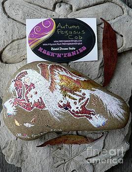 Rock'N'Ponies - AUTUMN PEGASUS COB by Louise Green
